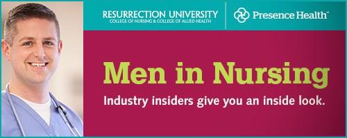 Men in Nursing Email Header