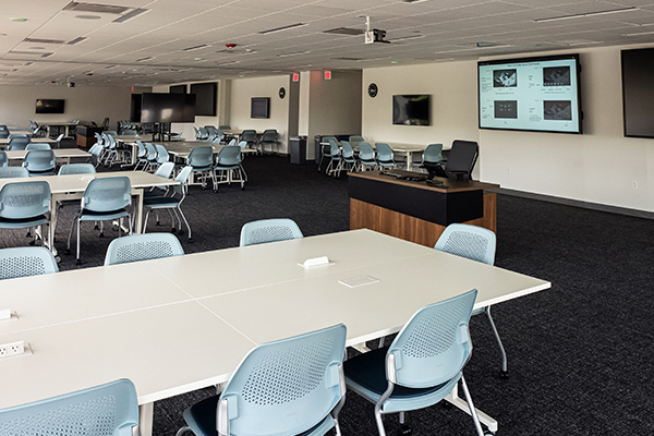 High-tech conference room